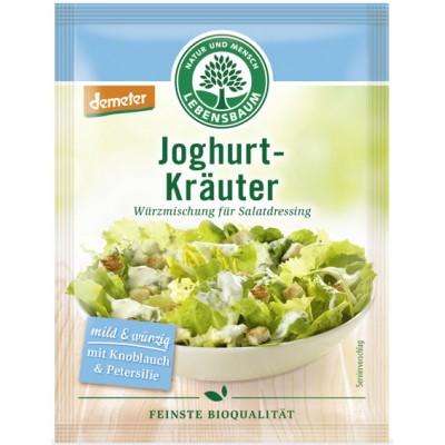 Žolelių mišinys jogurtiniam salotų padažui, biodinaminis (3 vnt. x 5 g)