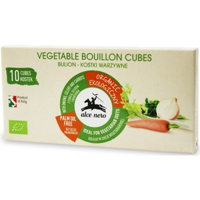 Daržovių sultinys kubeliais, ekologiškas (100 g)