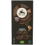 Juodasis šokoladas 100%, ekologiškas (50 g)