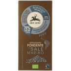 Juodasis šokoladas 70% su jūros druska, ekologiškas (50 g)