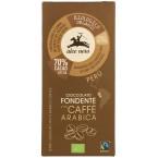 Juodasis šokoladas 70% su kava, ekologiškas (50 g)