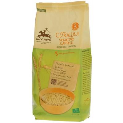 Kietųjų kviečių makaronai CORALLINI, kūdikiams nuo 6 mėn., ekologiški (500 g)