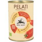Konservuoti pomidorai be žievelės, ekologiški (400 g)