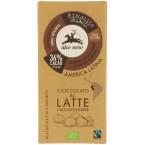 Pieniškas šokoladas su lazdyno riešutais, ekologiškas (100 g)