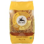 Pilno grūdo kviečių makaronai FUSILLI, ekologiški (500 g)
