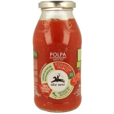 Pjaustytų pomidorų tyrė, ekologiška (500 g)