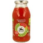 Pjaustytų pomidorų tyrė su bazilikais, ekologiška ...