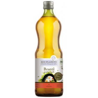 Saulėgrąžų aliejus kepimui, ekologiškas (1 l)