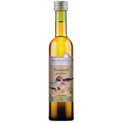 Skrudintų sezamų aliejus, ekologiškas (100 ml)
