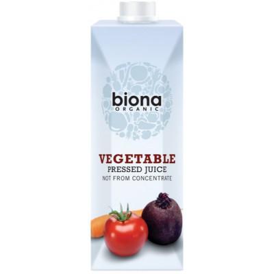 Daržovių sultys, ekologiškos (500 ml)