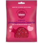 """Guminukai """"Granatų širdelės"""", ekologiški (75 g)"""