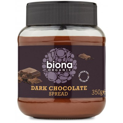 Juodojo šokolado kremas, ekologiškas (350 g)