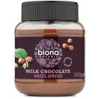 Pieniško šokolado ir lazdyno riešutų kremas, ekolo...
