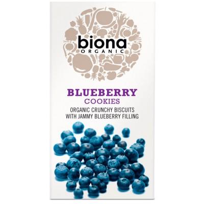 Sausainiai su mėlynių įdaru, ekologiški (175 g)