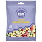 Šokoladiniai dražė saldainiai, ekologiški (75 g)