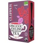Juodoji arbata ENGLISH BREAKFAST, ekologiška (20 pak.)