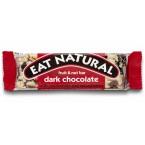 Batonėlis su juoduoju šokoladu, spanguolėmis ir makadamijomis (45 g)