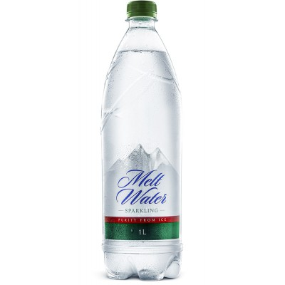 Gazuotas ledo tirpsmo vanduo (1 l)
