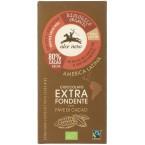 Juodasis šokoladas 80% su kakavos pupelėmis, ekologiškas (100 g)