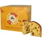 """Kalėdinis pyragas su razinomis ir apelsinais """"Panettone Classico"""", ekologiškas (750 g)"""