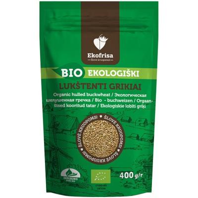 Lukštenti grikiai (nekepinti), ekologiški (400 g)