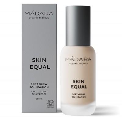 "Makiažo pagrindas ""Skin Equal"" SPF15, PORCELAIN, Nr. 10 (30 ml)"