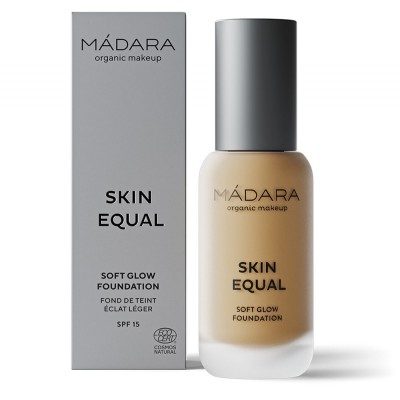 "Makiažo pagrindas ""Skin Equal"" SPF15, GOLDEN SAND, Nr. 50 (30 ml)"