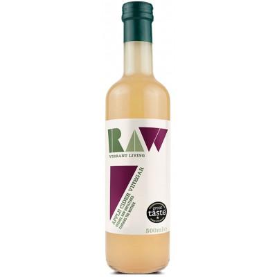 Neskaidrintas obuolių sidro actas, ekologiškas (500 ml)