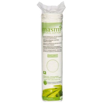 Kosmetiniai medvilnės diskeliai makiažui valyti, ekologiški (80 vnt.)
