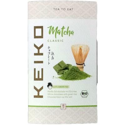 Šokoladas su žaliąja arbata, ekologiškas (30 g)