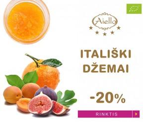 Velykų akcija – itališkiems džemams -20%