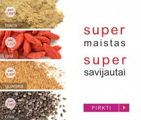 SUPER maistas SUPER savijautai!
