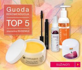 TOP 5 kosmetika rudeniui – Guoda rekomenduoja