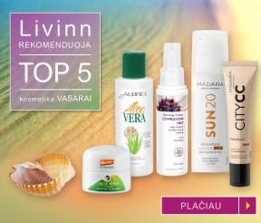 TOP 5 kosmetika vasarai – Livinn rekomenduoja
