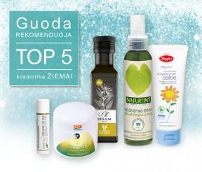TOP 5 kosmetika žiemai – Guoda rekomenduoja