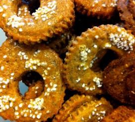Švediški ruginių miltų sausainiai