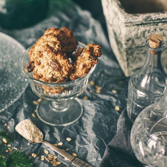 Avižiniai sausainiai be glitimo
