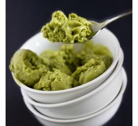 Veganiški ledai su žaliąja arbata