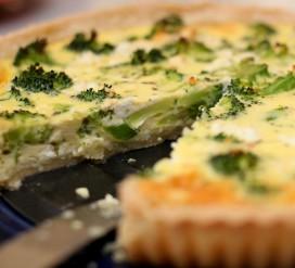 Brokolių tarta