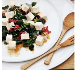 Jūros daržovių ir tofu salotos