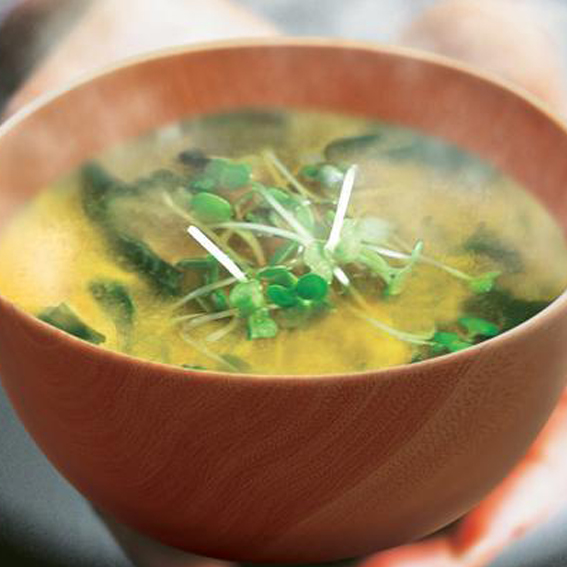 Klasikinė miso sriuba su jūros daržovėmis