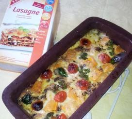 Vegetariška lazanija be glitimo