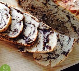 Mielinis aguonų pyragas be pridėto cukraus
