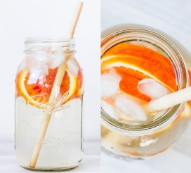 Gaivus limonadas su obuolių actu