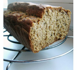 Grikių miltų duona be glitimo
