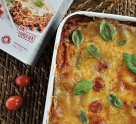 Veganiška lazanija be glitimo pagal Ramintą