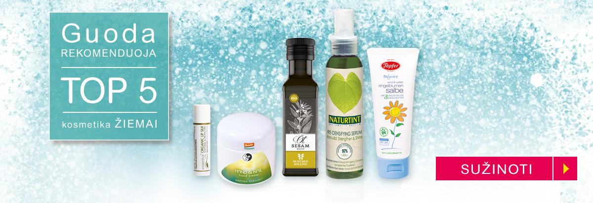 TOP 5 kosmetika žiemai