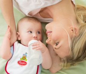 Kūdikių maistui – 100 metų patirtis ir švariausias Alpių karvių pienas