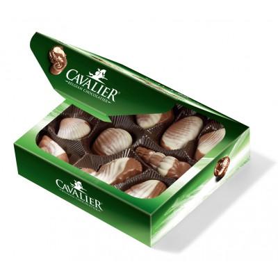 """Pieniško šokolado saldainiai """"Jūros kriauklės"""" (125 g)"""