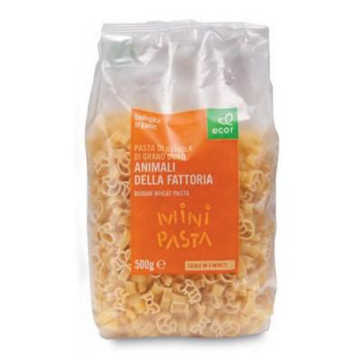 Kietųjų kviečių makaronai ANIMALI DELLA FATTORIA, ekologiški (500 g)